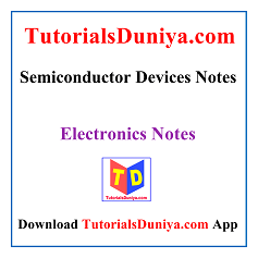 Semiconductor Devices Notes PDF