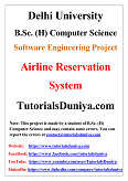 Airline Reservation System Software Engineering Project PDF