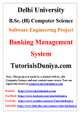 Banking Management System Software Engineering Project PDF
