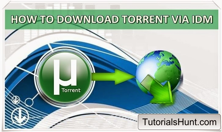 how to download torrent file faster using idm