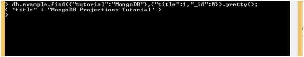 MongoDB Projection with Filter id field