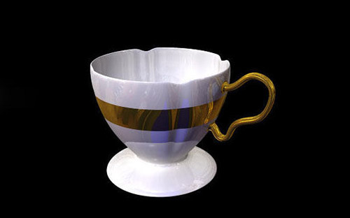 Coffee in The Ultimate Collection Of Maya 3D Tutorials