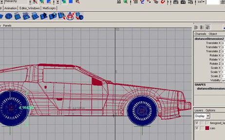 Rotate Wheel in The Ultimate Collection Of Maya 3D Tutorials