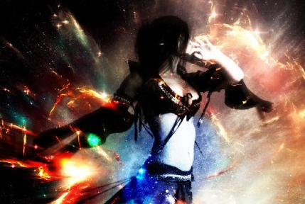 Design an Awesome Space Dancer Scene with Nebula Texture in  Photoshop