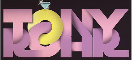 Textart8 in 40+ Killer Typographic Posters, Photoshop Effects and Tutorials