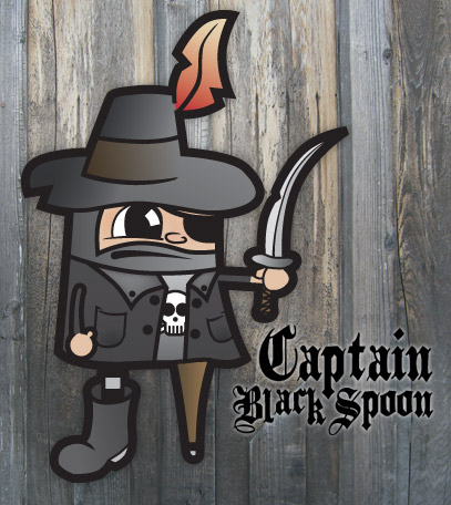 Create a Vector Pirate Cartoon Character from a Hand Drawn Sketch
