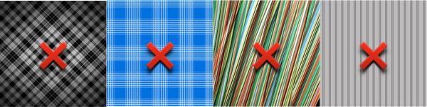 Checks, Patterns, Bold and Stripes