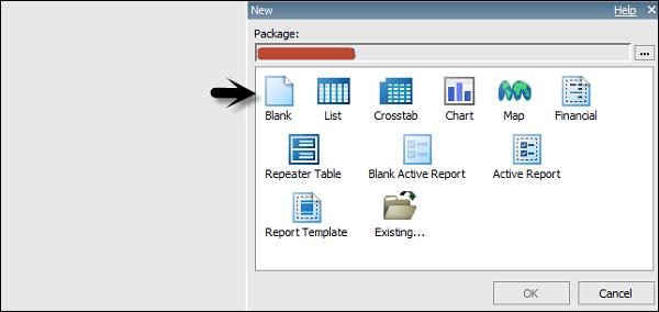 cognos crosstab report
