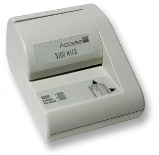 Magnetic Ink Card Reader (MICR)