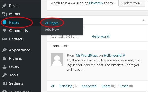 WordPress Add Links