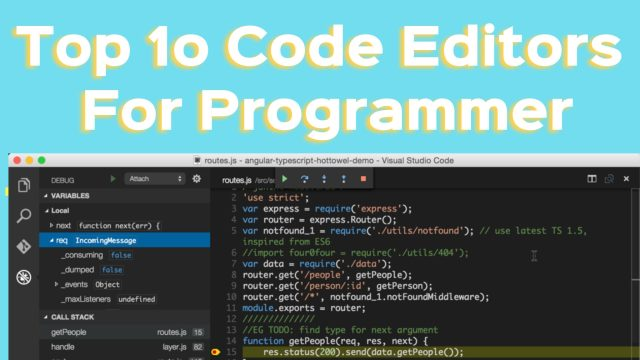 top 10 code editors for programmers