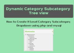 category-subcategory-tree-dropdown