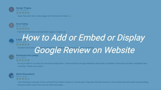 embed-google-review-website
