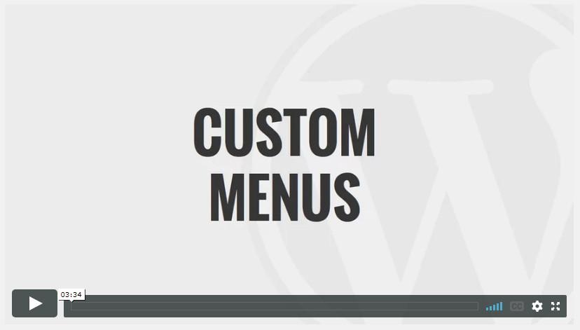 Custom Menus
