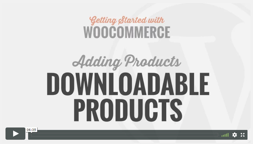 Downloadable Products