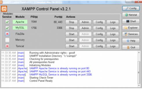 Instal XAMPP 6