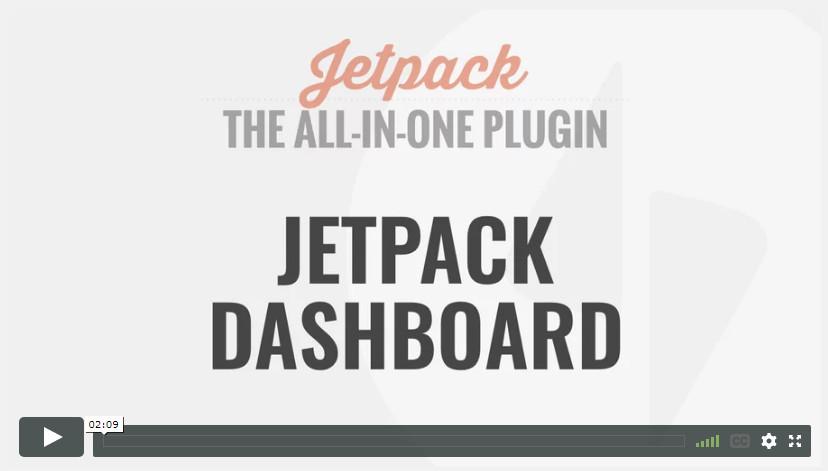 Jetpack Dashboard