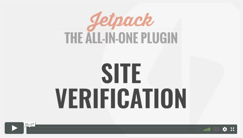 Site Verification