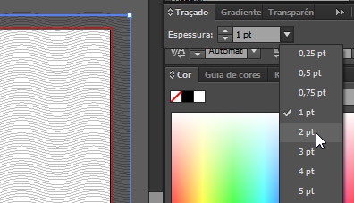 Tracado illustrator