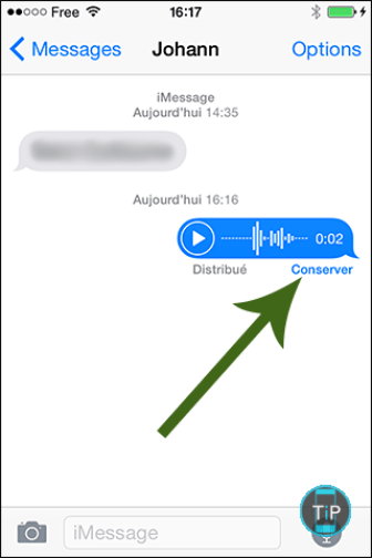 message-vocal-iphone-ios8