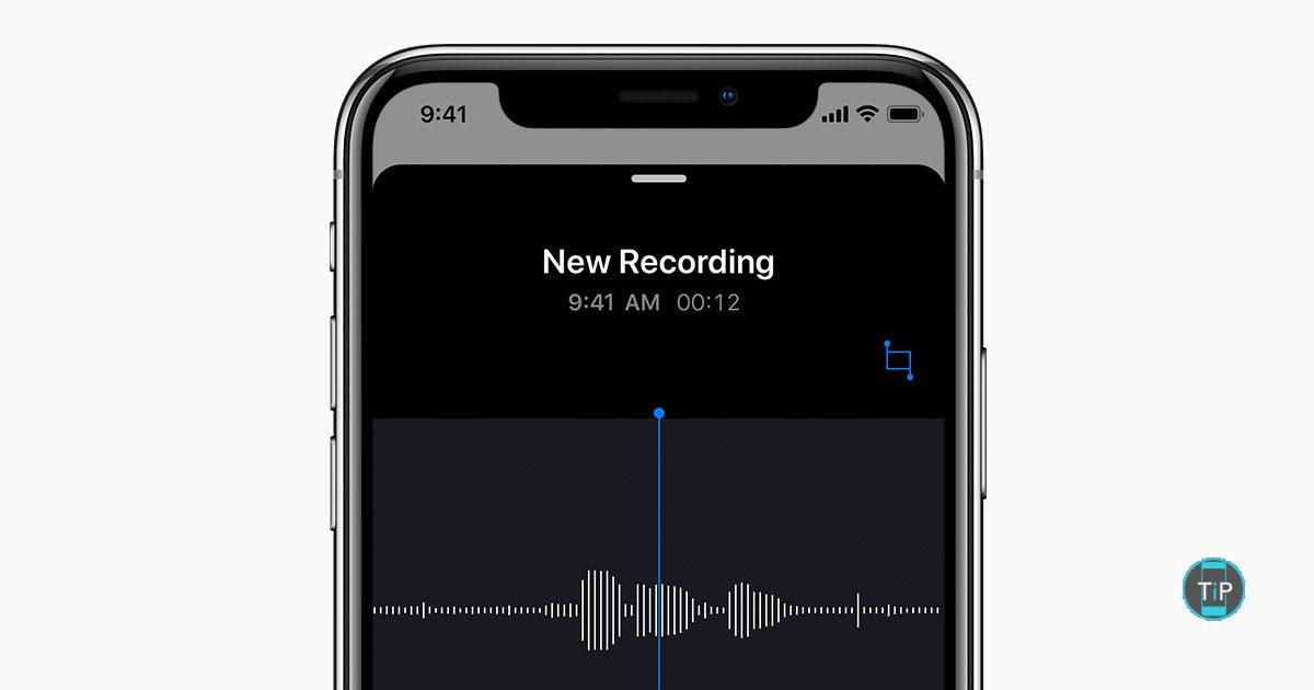 comment envoyer un message vocal par message ou mail - tutoriel iphone