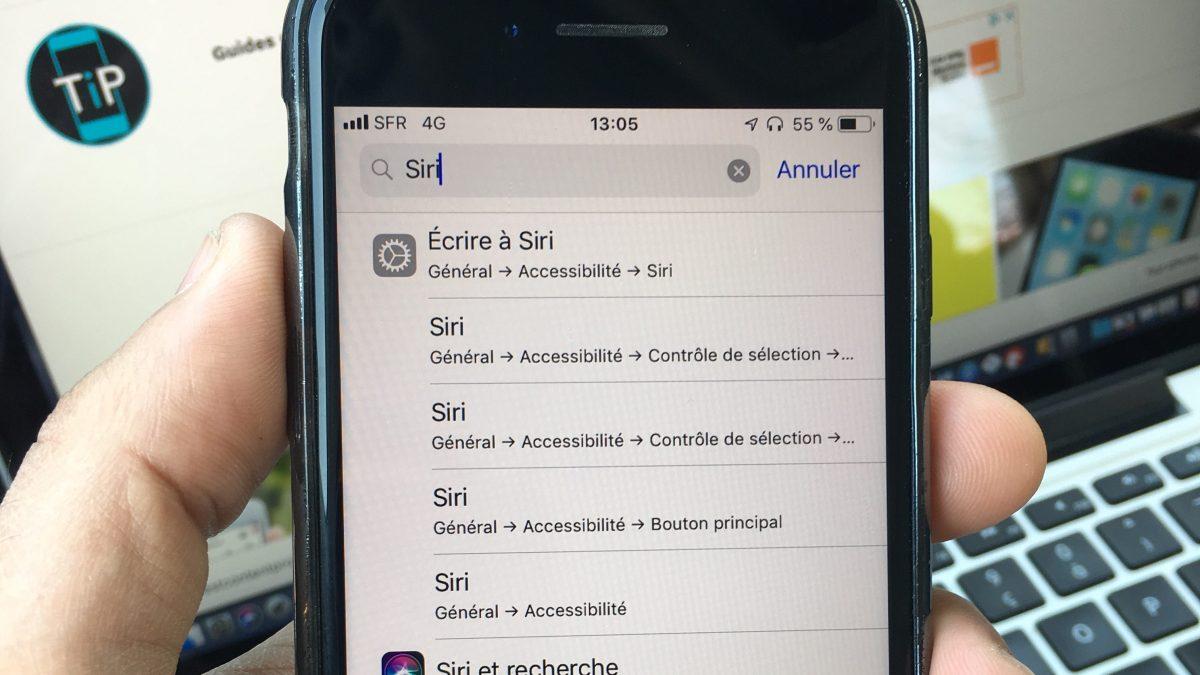 Comment trouver un paramètre de réglage de votre iPhone très rapidement