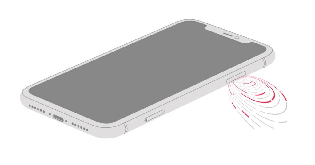 iphone 2021 bouton latéral touch id