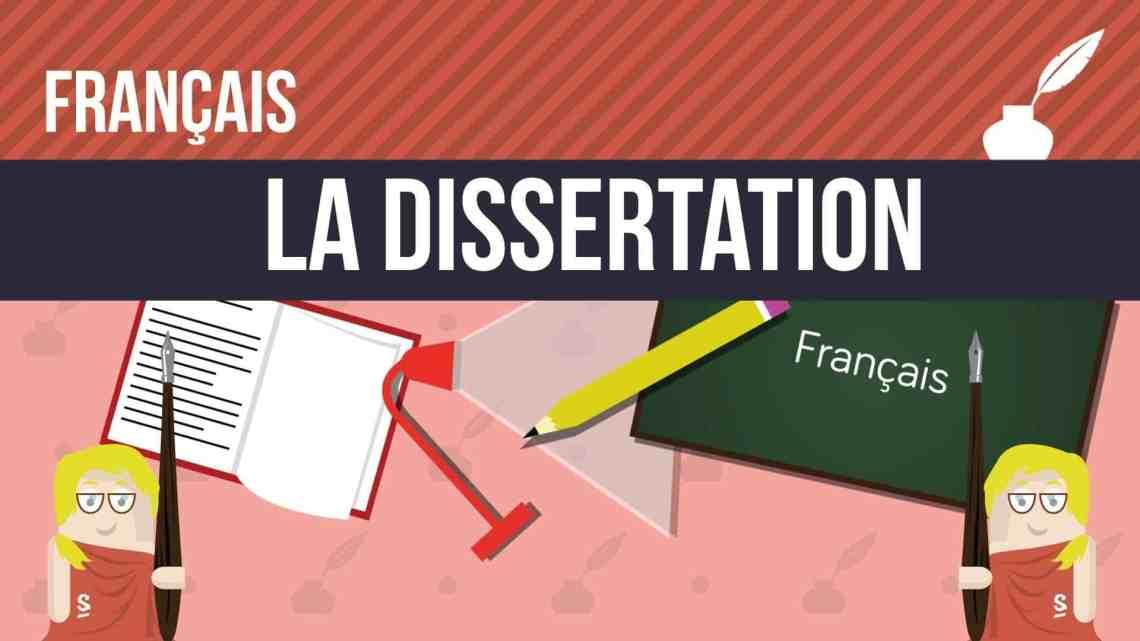la dissertation