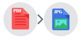 convertir un PDF en JPEG avec un logiciel