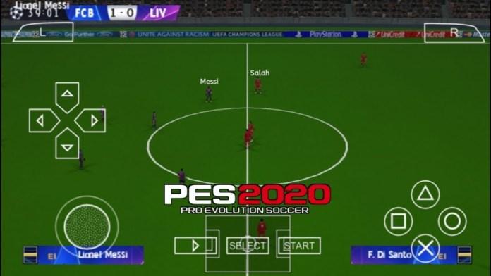 Télécharger PES 2020 PPSSPP