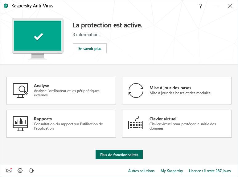 antivirus gratuits 2019
