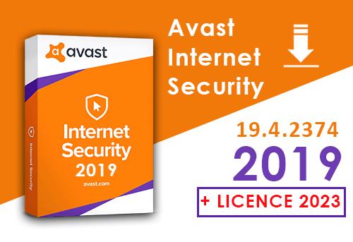 Avast internet Security 2019 gratuit avec crack