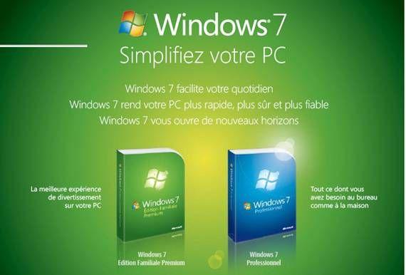 activation Windows 7 familiale premium crack