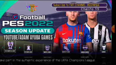 PES 2022 PPSSPP ISO Commentaire Anglaise