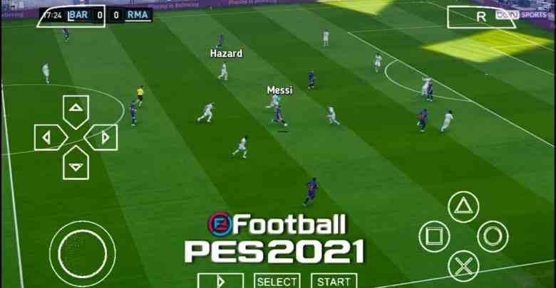efootball pes 2021 ppsspp original