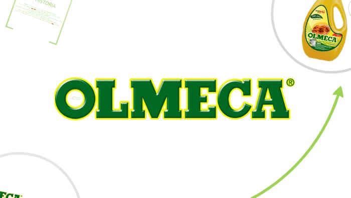 Logo de Olmeca, empresa que fabrica aceite vegetal en Guatemala