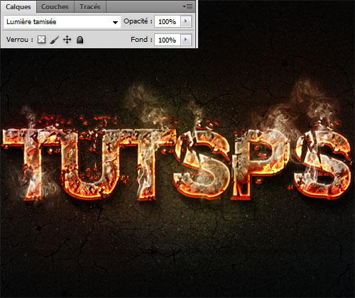 Effet de lave sur texte avec photoshop maherkhayati for Effet miroir sur photoshop