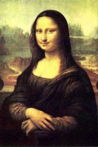 Marcel Duchamp gioconda baffi