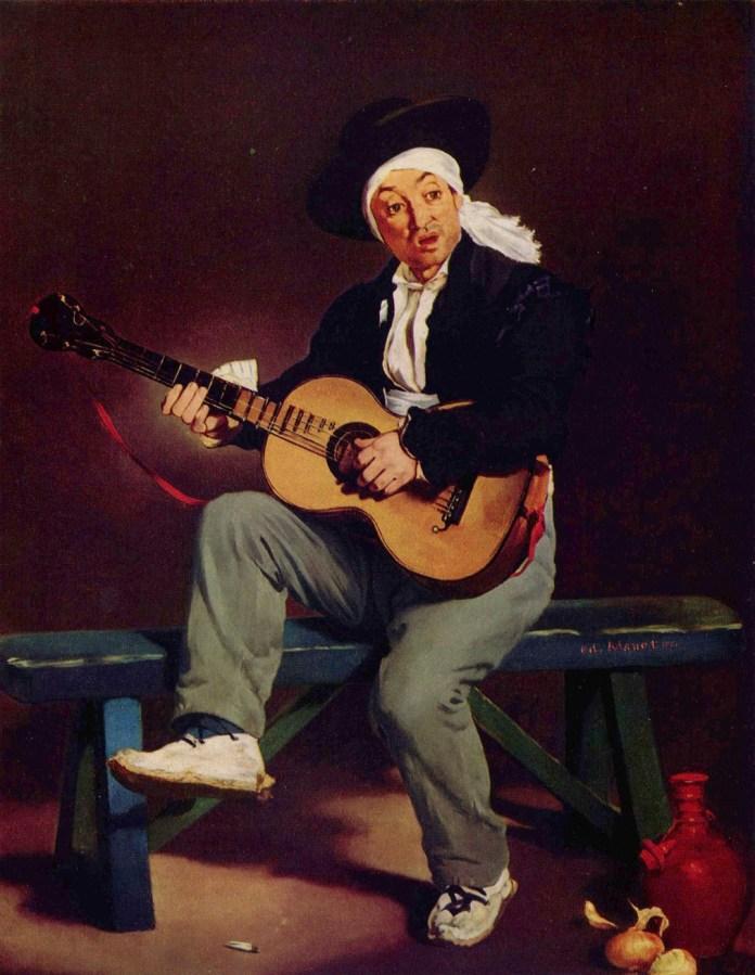 Il chitarrista spagnolo - Manet