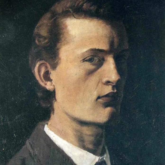 Edvard Munch autoritratto