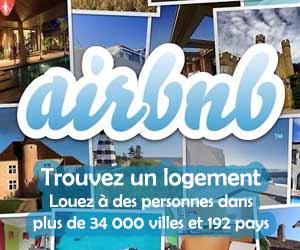 Air BNB - Louez à des particuliers dans 192 pays et plus de 34000 villes