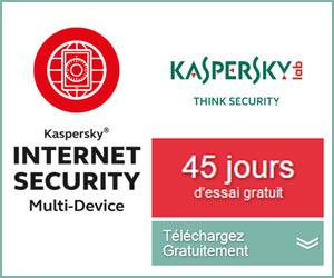 Kaspersky Internet Security : 45 jours d'essai gratuit