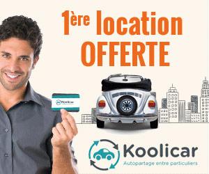 Koolicar - 1ère location offerte