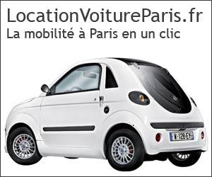 La location de voiture à Paris