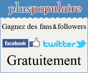 Pluspopulaire : système échange de fans et followers