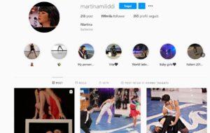 Martina Miliddi toglie dalla bio di Instagram ballerina di Amici 20 perché eliminata