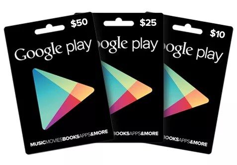 Play Gift Cards
