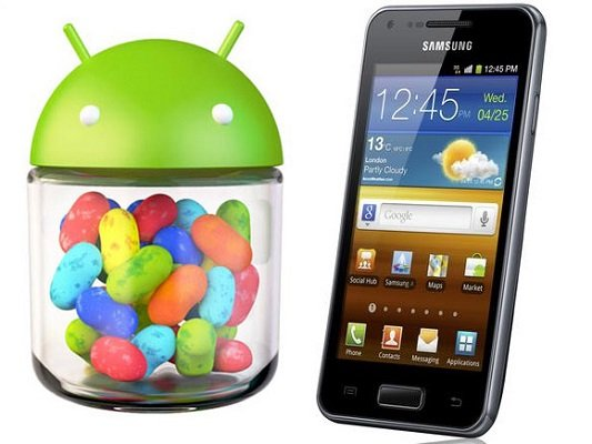 Samsung Galaxy S Advance Jelly Bean