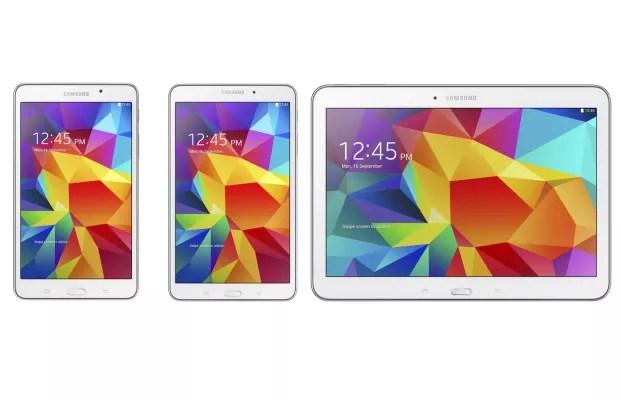 Samsung Galaxy Tab4 Samsung annuncia ufficialmente i Galaxy Tab 4 7.0, 8.0 e 10.1: caratteristiche tecniche