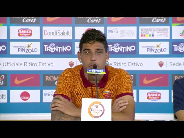 EMERSON PALMIERI Conferenza post partita Roma Terek